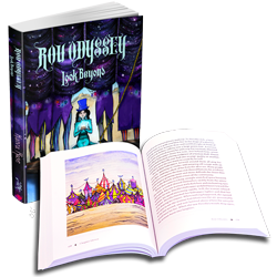 Rou Odyssey Paperback Book in color