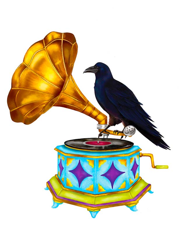 The Raven of Rou Odyssey.